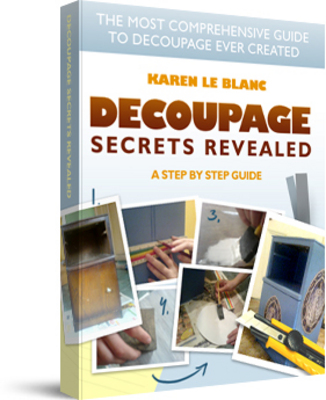 Product picture How To Create Beautiful Decoupage Projects Step By Step